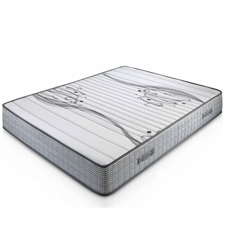 Pack Descanso Base Tapizada + Colchón Viscoelástico Boston 22 cm TopMueble 2