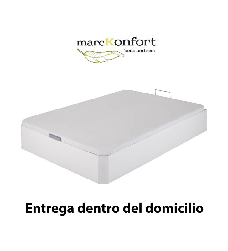 Pack descanso Canapé + Colchón 22 cm + Almohada TopMueble 6
