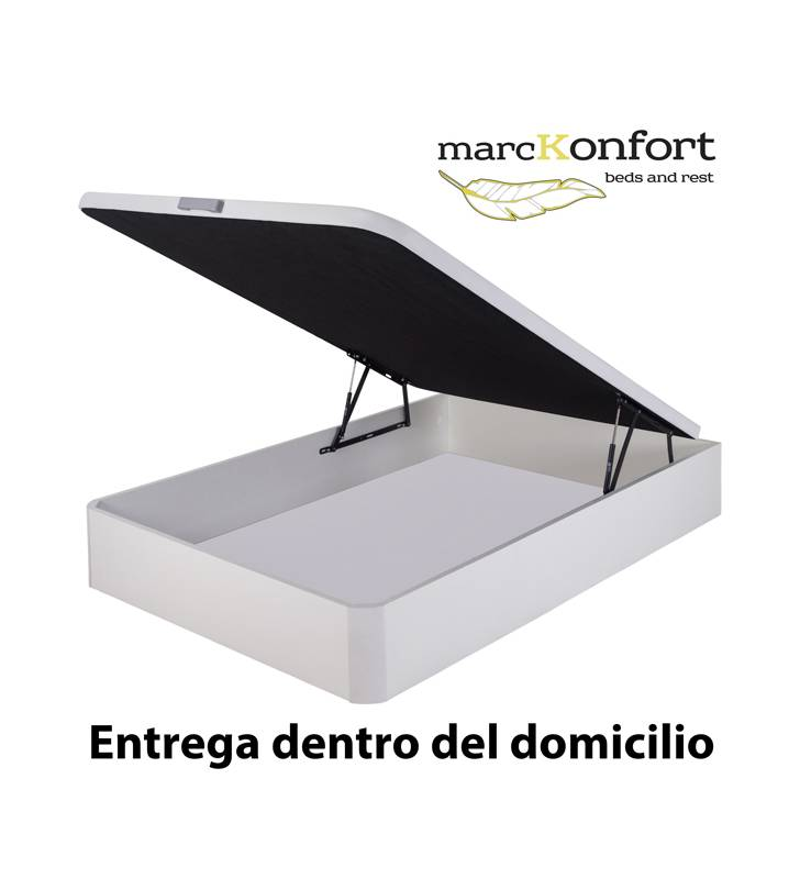 Pack descanso Canapé + Colchón Muelles 22 cm + Almohada TopMueble 10